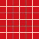AIR mozaika červená 30x30 WDM06041.1