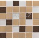 GDM05067.1 Mozaika Veneto MIX Noce-Bruno 30x30