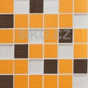 GDM05066.1 Mozaika Veneto MIX Arancio-Bruno 30x30