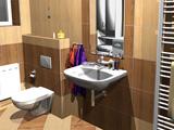3D vizualizace koupelen - ukázka